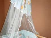 1. Miś na drabince (moskitiera)