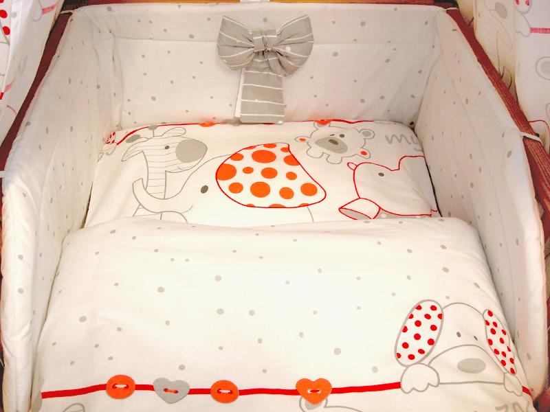 Pościel Do łóżeczek Komplet 5 Elementowy Emka Producent