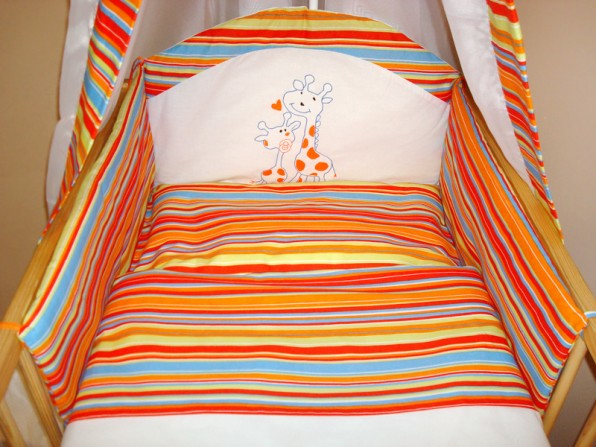 10. Żyrafki - paski pomarańcz I