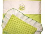 3. Miś - zielona kratka