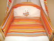 9. Miś - paski pomarańcz I