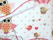 14. Sowy na rowerach róż