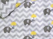 36. Słoń z parasolką